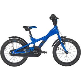 s'cool XXlite 16 alloy Kinder blue/black matt
